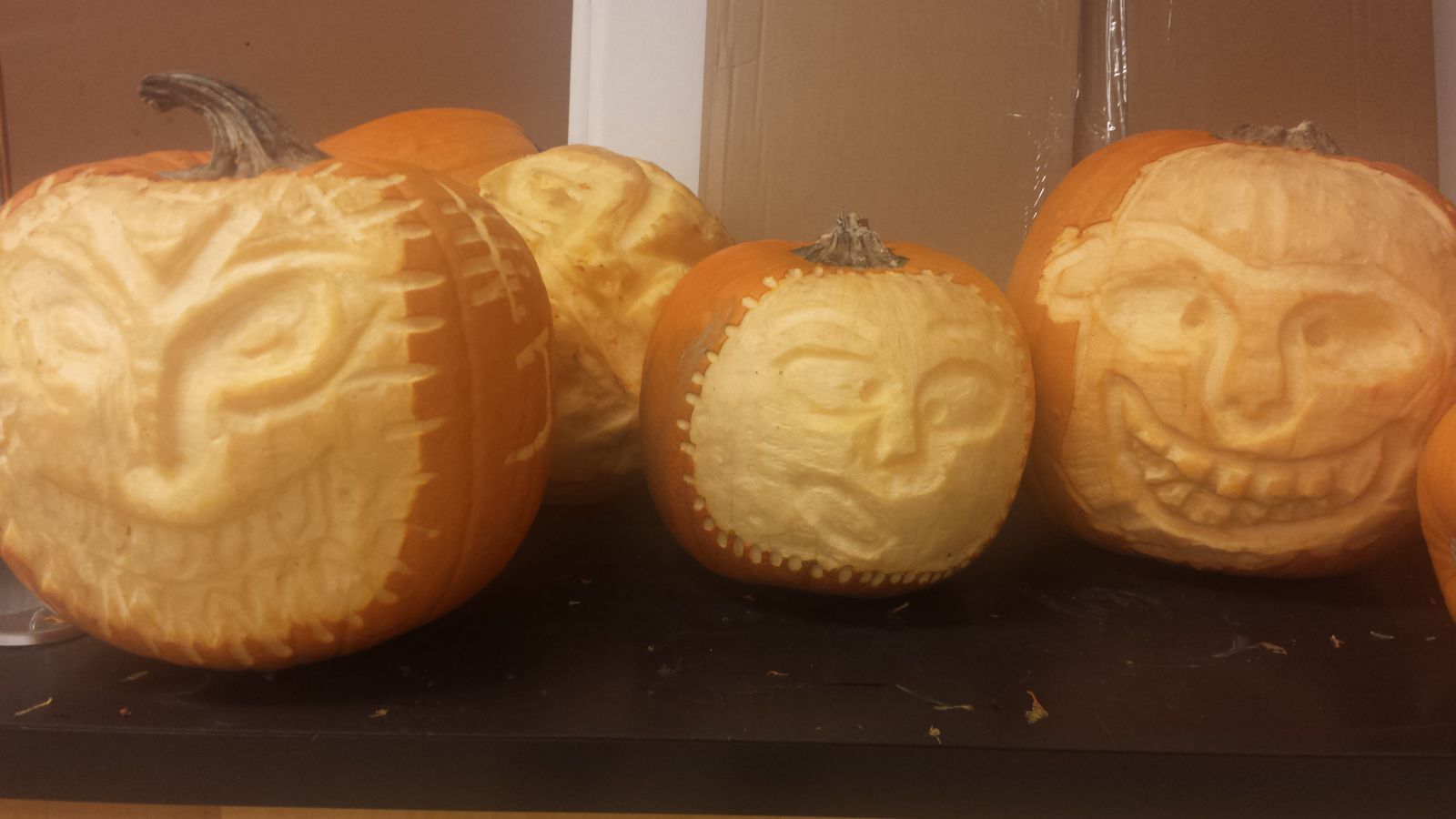 2016 Pumpkin Carving