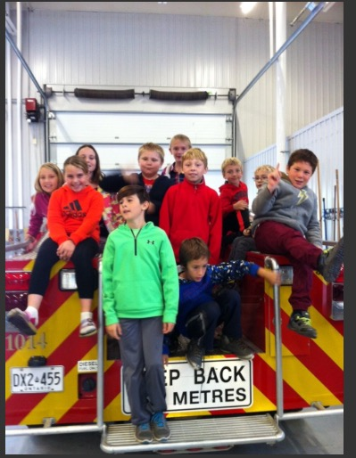 2016 Fire Hall Visit