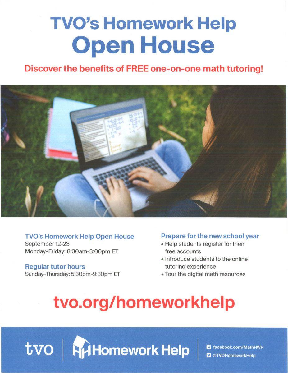 Student Homework Help 2016
